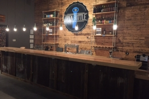 Retail - Open Bottle bar front